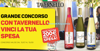 Logo Con Tavernello vinci la tua spesa