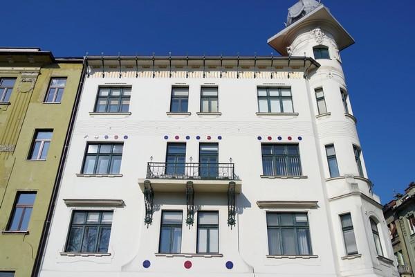 ljubljana art nouveau miklošičeva cesta maison cuden parc Miklošič