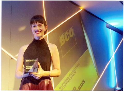 Βράβευση Αργείτισσας Αρχιτεκτόνισσας στην Αγγλία με BCO για το 2018