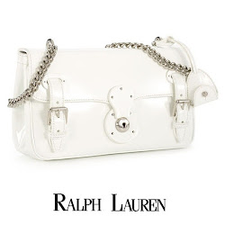 Crown Princess Victoria Style RALPH LAUREN Ricky Chain Bag