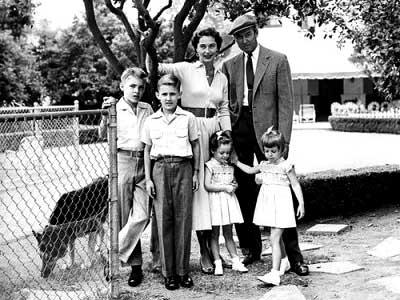 James stewart family