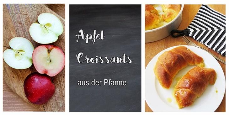 Titelbild - Apfelcroissants aus der Pfanne