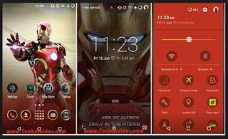 Tema Android iron Man