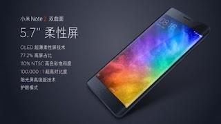 Xiaomi Mi Note 2 Resmi Dirilis, Usung Desain Layar Lengkung (Curved Display)