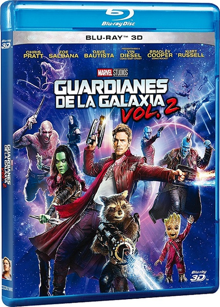 Guardians of The Galaxy Vol. 2 3D IMAX (Guardianes de la Galaxia Vol. 2 IMAX) (2017) m1080p BDRip 3D Half-OU 13GB mkv Dual Audio DTS 7.1 ch