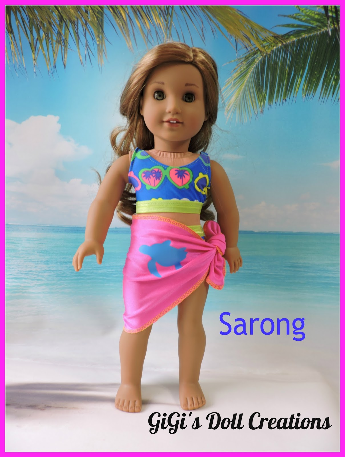 GiGi\'s Doll and Craft Creations: American Girl Doll 2016 Swimsuit ...