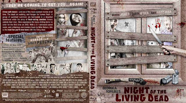 Night of the Living Dead Bluray Bluray Cover