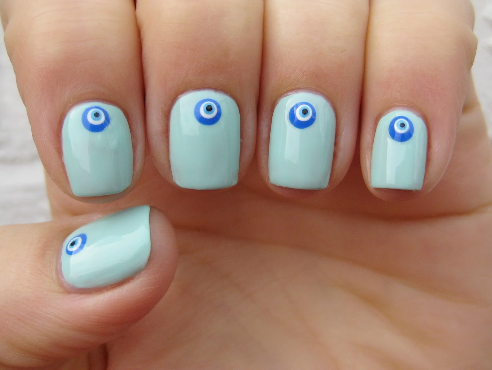 Famous Eye Nails Picture Collection - Nail Art Ideas - morihati.com