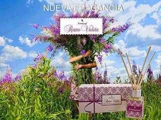 Difusor aromático, Ramo violeta