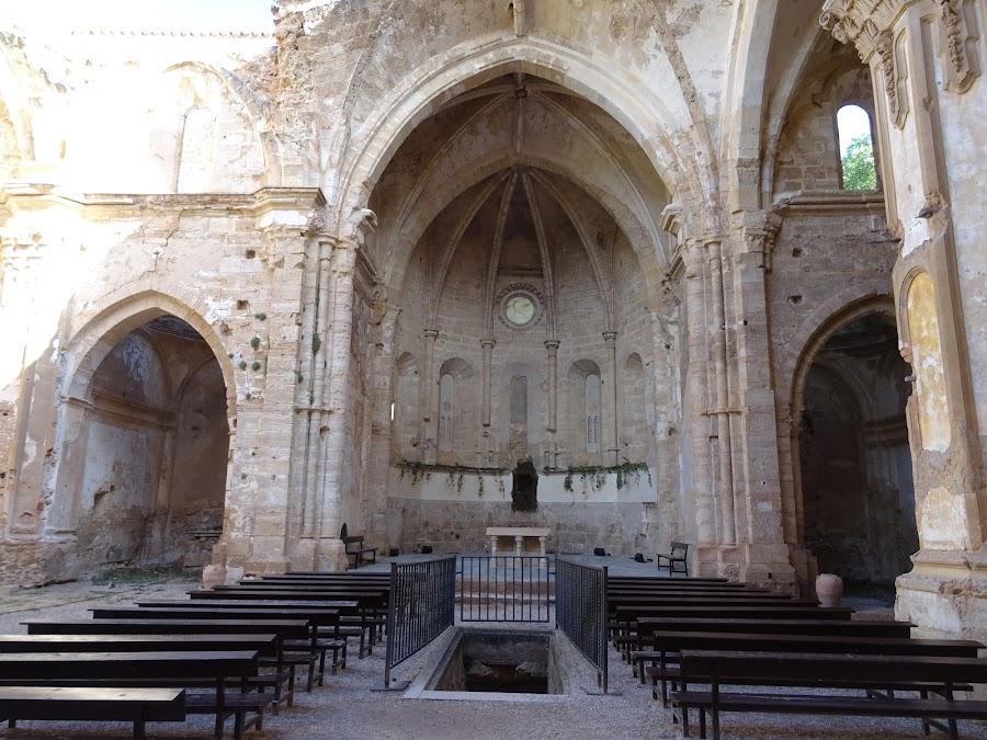 Iglesia en ruinas del Monasterio de Piedra