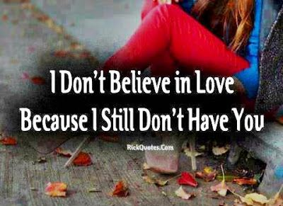 Love Quotes Collection I Dont Believe In Love Quote Picture