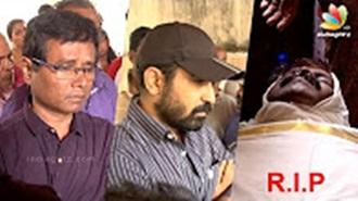 Lyricist Annamalai death mourned by Vijay Antony, Director Sasi, celebrities
