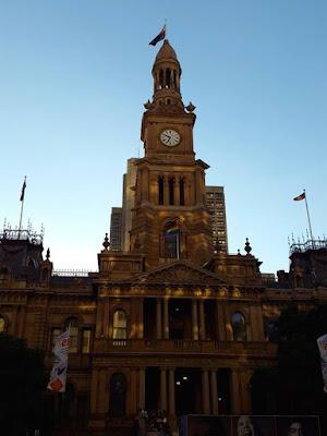 Town Hall in Sydney Australia