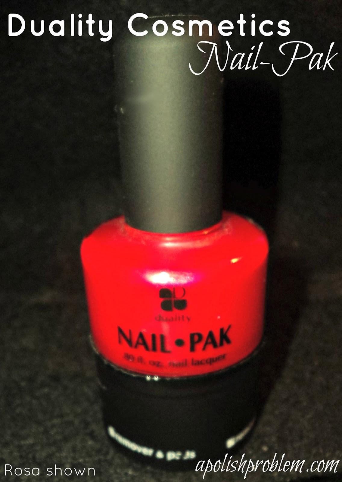 Nailpak : nailpak, Polish, Problem:, Duality, Cosmetics, Nail-Pak, Product, Review
