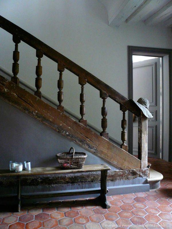 la fabrique d co les tomettes anciennes et modernes le malon hexagonal dans la d co. Black Bedroom Furniture Sets. Home Design Ideas