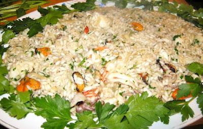 ricetta riso di mare