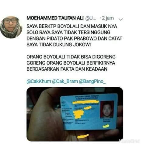 Warga Asli Boyolali Tak Tersinggung dengan Pidato Prabowo
