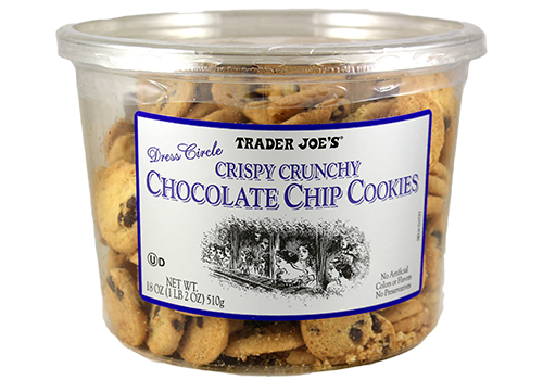 Trader Joes Crispy Crunchy Chocolate Chip Cookies