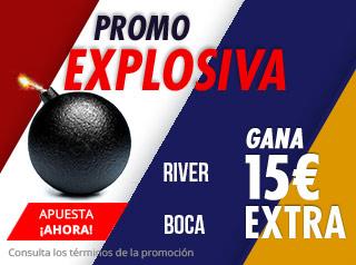 suertia promocion River vs Boca 9 diciembre