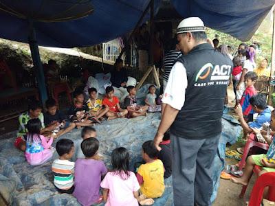 Dapur Umum ACT Lampung Mulai Layani Penyintas Banjir Pekon Umbar