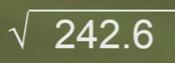 Ejercicio resuelto de Raíz cuadrada con decimales 3