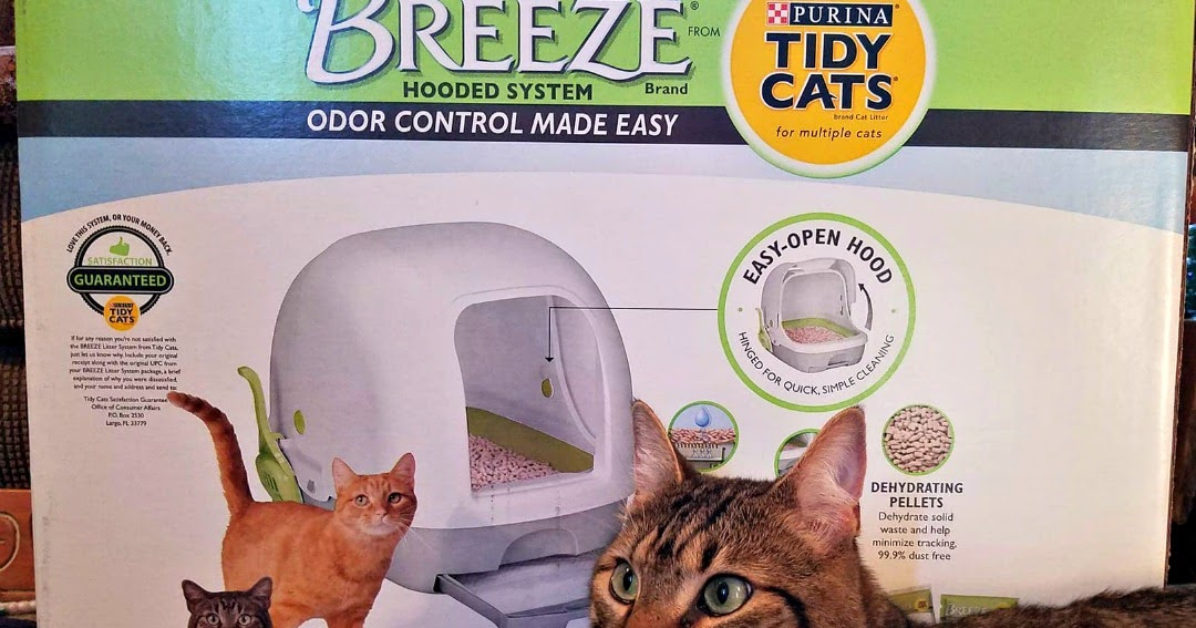 Tidy Cats Breeze Cat Litter Box System For Easy Cat Care
