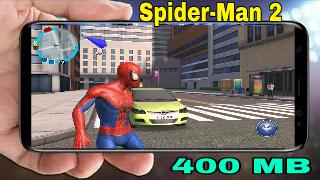تحميل لعبة سبايدر مان Spider-Man 2 للاندرويد بحجم 400 ميجا