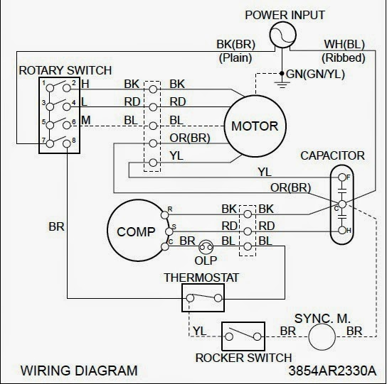 wiring for wall thermostat