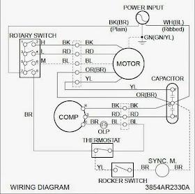 Window Unit A C Compressor Wiring Diagram Auto A C Diagram