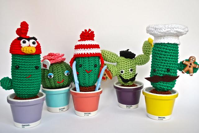 Cactus de amigurumi