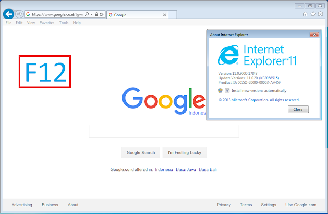 latest internet explorer for windows 7