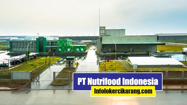 Lowongan Kerja PT Nutrifood Indonesia MM2100