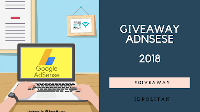Blogger Giveaway Google Adsense Nonhosted 2018