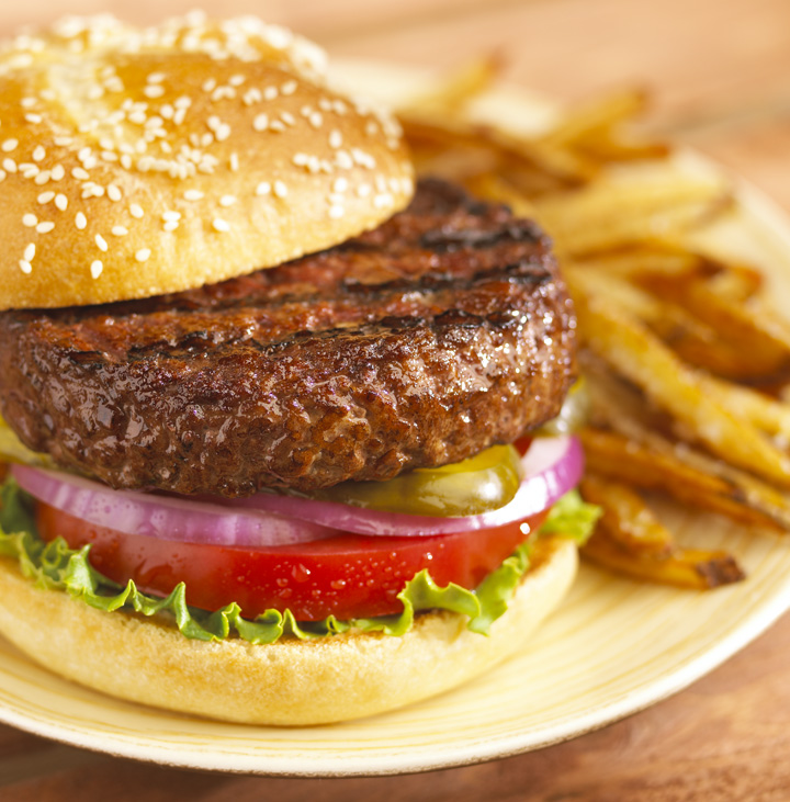 Burger And Fries Recipe