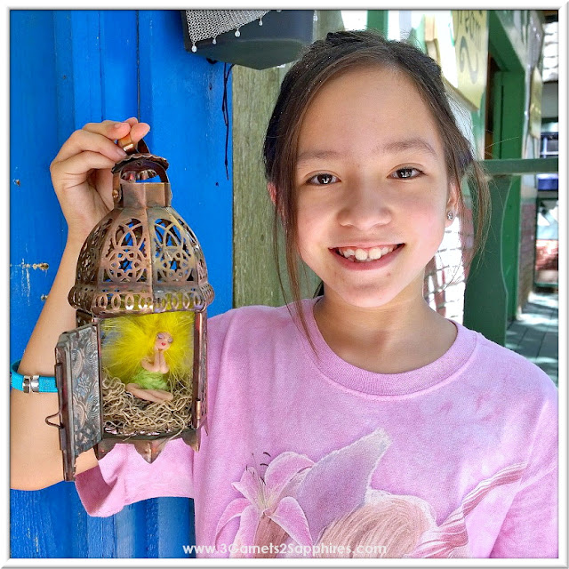 Fairy in ornate cage souvenir from Fairy Haven at King Richard's Faire 2015 #krfaire