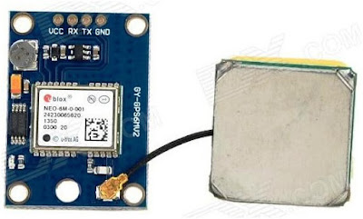 Mengakses modul gps NEO6MV2 (Neo 6M) dengan arduino uno