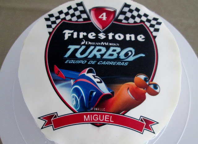 Tarta Turbo Disney