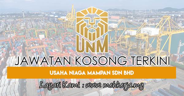 Jawatan Kosong Terkini 2018 di Usaha Niaga Mampan Sdn Bhd
