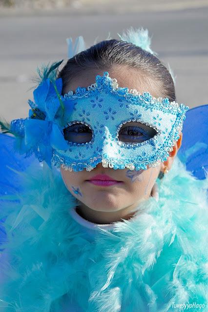 Retrato en carnaval | Blanca Vela