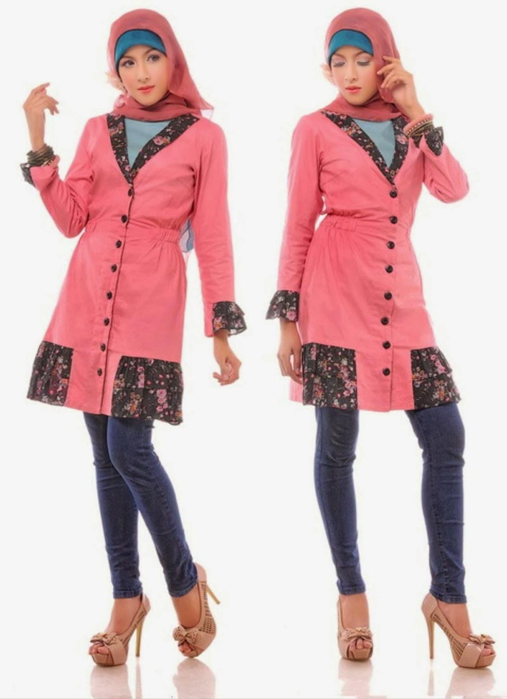Model Baju Muslim Remaja Wanita Gamis