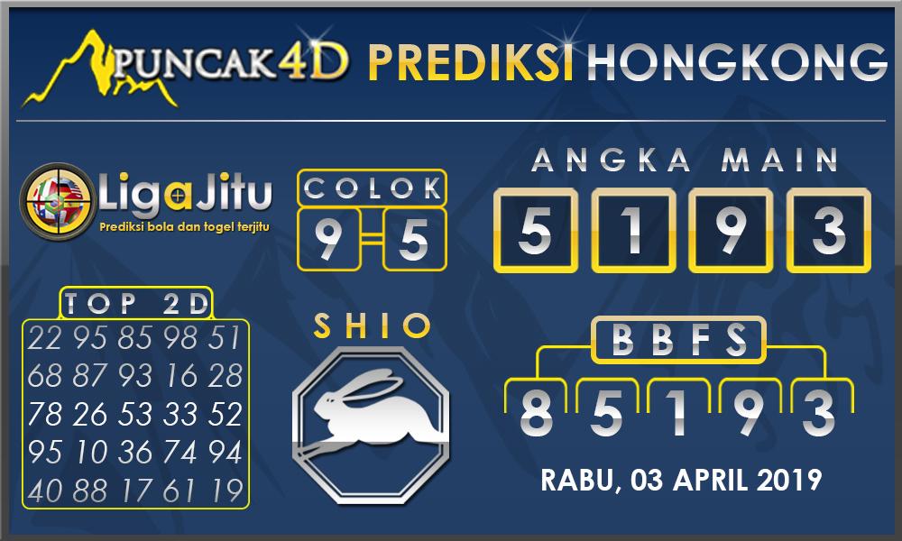 PREDIKSI TOGEL HONGKONG PUNCAK4D 03 APRIL 2019
