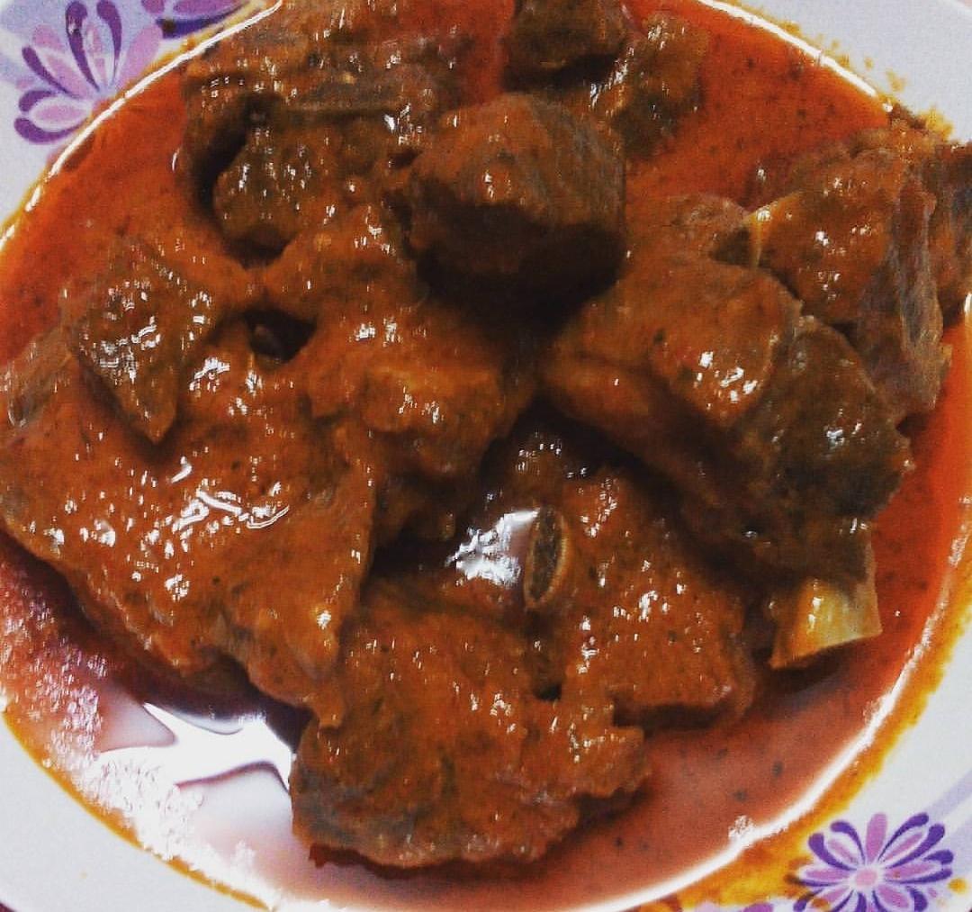 Dunia Makanan Resepi Daging Kambing Masak Merah