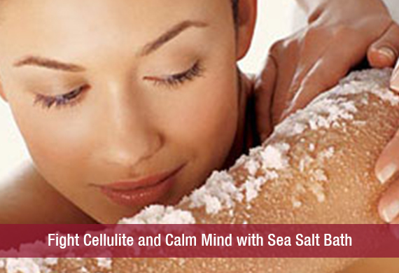 Sea Salt Against Cellulite - Home Recipes