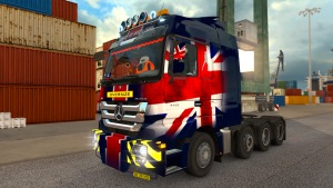 Mercedes Actros MP3 Fixed 1.1