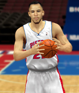 NBA 2K13 Tayshaun Prince Cyber Face Patch