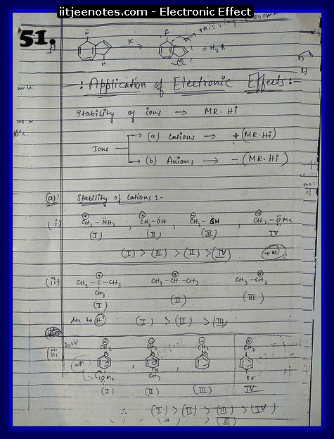 Electronic Effect chemistry6