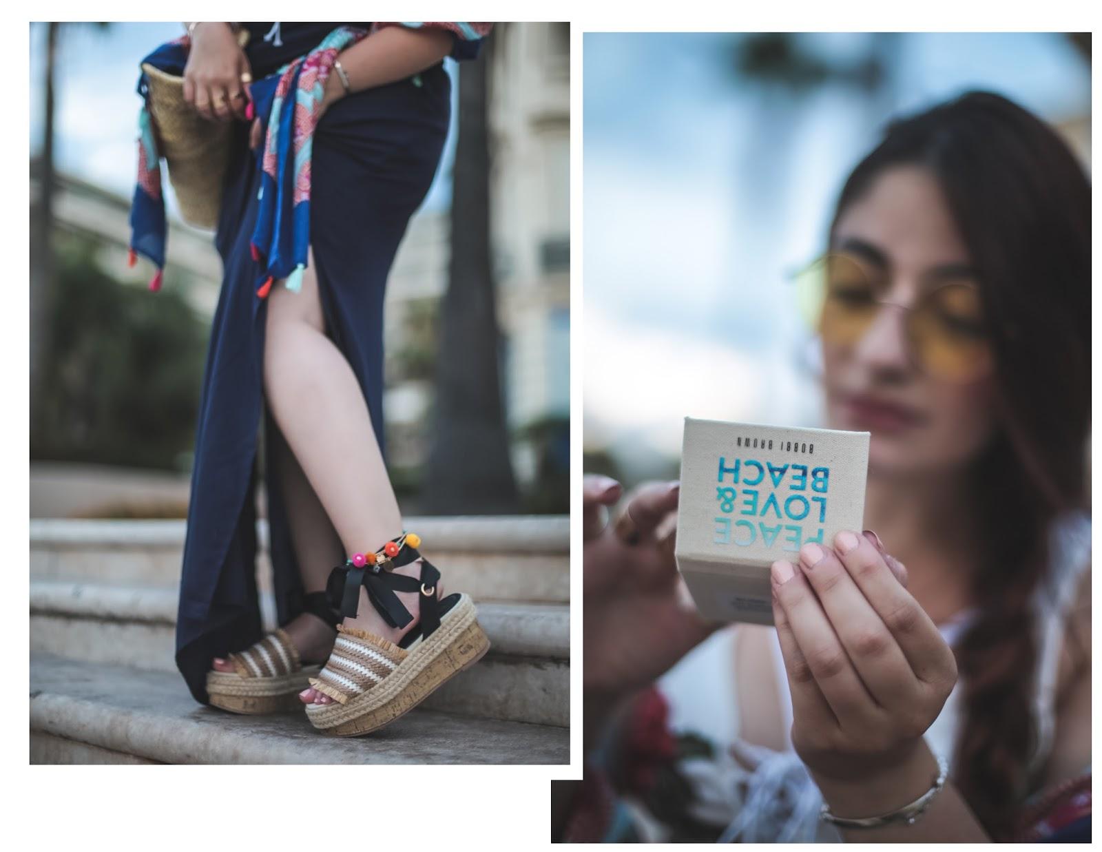 chaussures plateformes en bois blog mode