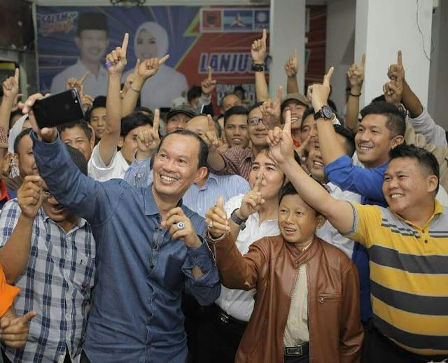 Harnojoyo dan Fitrianti Ajak Semua Pihak Bersama-sama membangun Palembang.