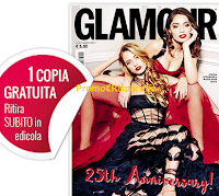 Logo Glamour : ritira la copia omaggio n.297 in edicola