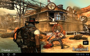 Download Game Android Bladeslinger APK+DATA